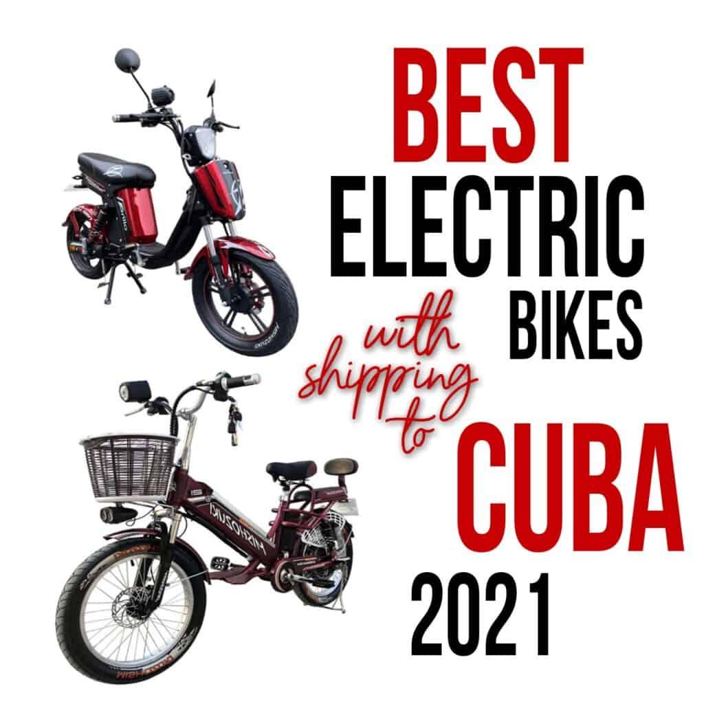 electric bikes to cuba