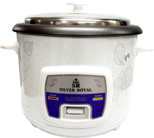 buy rice cooker silver royal