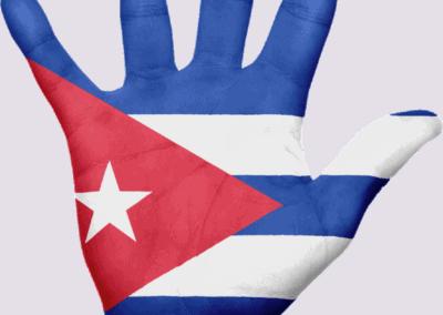 cuba flag drawing