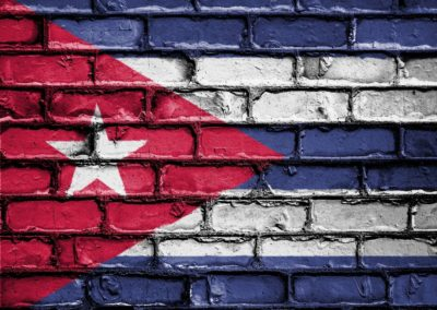 cuban flag wall