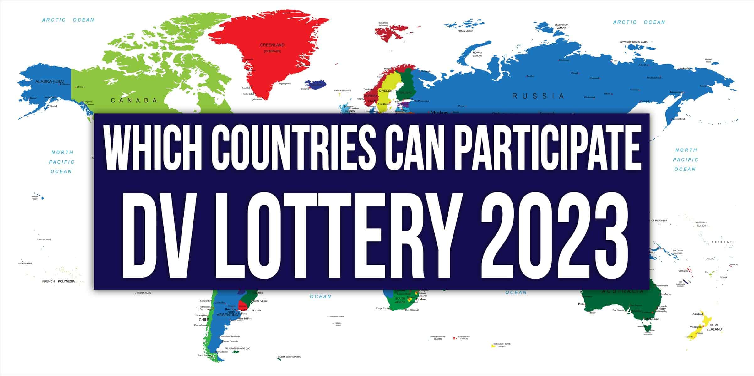 dv 2023 visa lottery Eligible countries