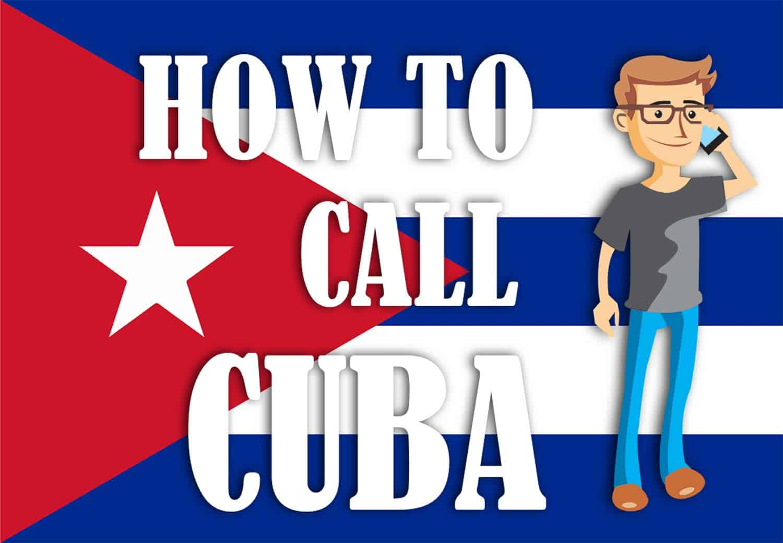 how to call cuba