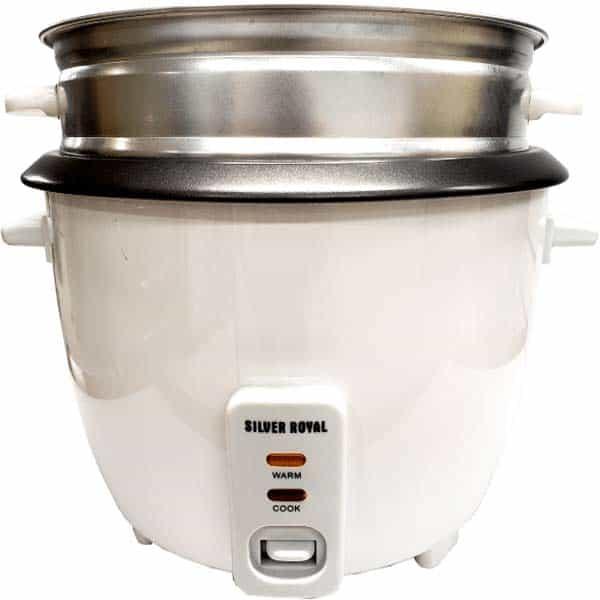 rice cooker silver royal shipping to cuba